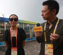 刘嘉玲,北京奥运,场外,嘉宾,明星,08北京