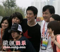 成龙,北京奥运,场外,嘉宾,明星,08北京
