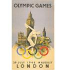 历届奥运会海报